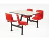 Mobilier de cantina: masa+4 scaune rotative, culoare