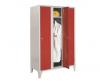 VESTIAR METALIC CU PICIOARE SI 3 USI COLOR 111/03, 1050x350x1800 mm (LxlxH), Italia