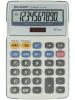 Calculator de birou, 10 digits, 170 x 108 x 15 mm, sharp el-334fb -
