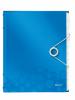 Mapa cu separatoare leitz wow, pp, 12 separatoare - albastru metalizat