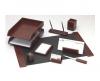 Set birou 9 piese lux (culoare lemn