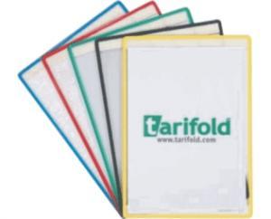 Set 5 buzunare de prezentare A4 autoadezive Tarifold