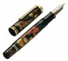 Stilou editie limitata maki-e koi,penita m1000 din aur 18k, corp