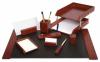Set birou lux 9 piese lemn forpus fogs471801