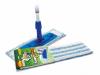 Set mop plat : suport+maner+mop, 42x9cm