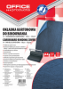 Coperta carton imitatie piele 250g/mp, A4, 100/top Office Products - bleumarin