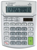 Calculator de birou, 12 digits, 102 x 140mm, ecran rabatabil, Q-Connect - gri