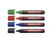Permanent marker edding 330, varf retezat 1-5 mm
