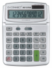 Calculator de birou, 12 digits, 140 x 180mm, ecran rabatabil, Q-Connect - gri