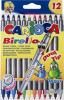 Markere carioca birello, varfuri 2 si 4 mm, 12