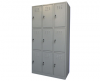 Vestiar metalic mini cu 9 usi fara accesorii, 889x450x1500 mm (lxlxh),