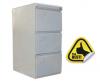 Clasificator metalic cu 3 sertare 450x610x1048 mm (lxlxh), eco+