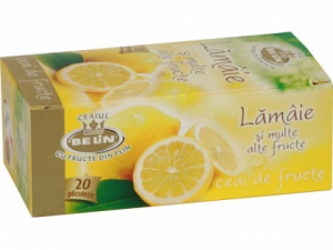 Ceai fructe cu lamaie