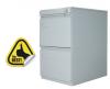 Clasificator metalic cu 2 sertare 450x610x731 mm (lxlxh), eco+
