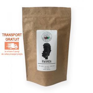 Rwanda cafea boabe Proaspat Prajita 500g