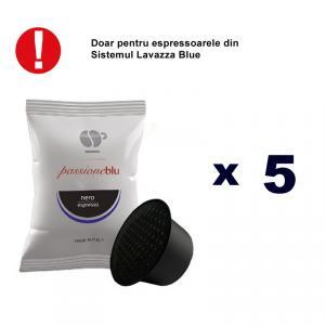 Lollo Caffe Nero capsule compatibile Lavazza Blue 5 buc