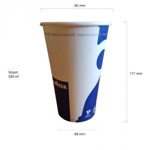 Lavazza pahare carton 12 oz set 50 buc