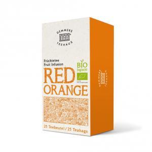 Demmers Red Orange Bio Quick-T ceai aromat cutie 25 plicuri