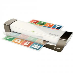 Laminator A4, 80 - 125 microni, argintiu, iLAM Office LEITZ