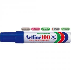Permanent marker ARTLINE 100, corp metalic, varf tesit 7.5-12.0mm