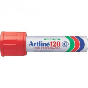 Permanent marker ARTLINE 120, corp metalic, varf tesit 20.0mm