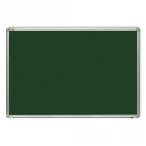 Tabla verde magnetica cu rama din aluminiu, 100 x 200 cm, pentru creta, Optima