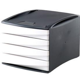 Suport cu 4 sertare albe G2Desk FELLOWES