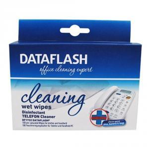 Servetele umede dezinfectante pentru curatare telefon mobil, 20/cutie, DATA FLASH