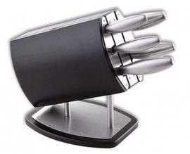 Set cutite turnate din inox cu suport 6 piese Herman Muller 6329
