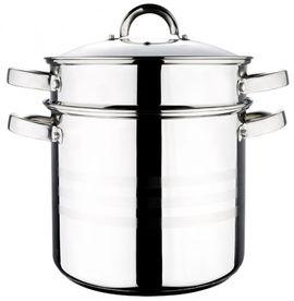 Oala de inox 3 piese pentru paste si supa Blaumann BL-1477 - Gourmet Line