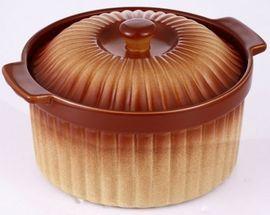 Cratita ceramica rotunda cu capac Vabene VB-6020038