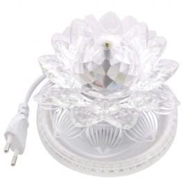 Bec 48 LED-uri rotativ mini Lotus Sunflower 8W