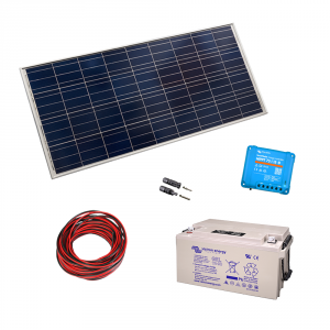 Kit fotovoltaic 260Wp - consumatori 12V c.c.