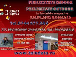 Publicitate indoor,outdoor Kaufland