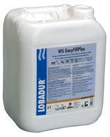 Solutie pe baza de apa, pentru prepararea chitului prin amestec cu rumegusul de la sletuire LOBADUR WS EasyFillPlus-Loba