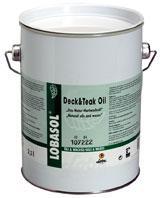 Ulei pentru uz la exterior, pe baza de uleiuri de plante LOBASOL Deck&Teak Oil-Loba