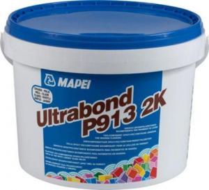 Adeziv bicomponent epoxi-poliuretanic, flexibil, fara apa sau solventi ULTRABOND P913 2K-Mapei