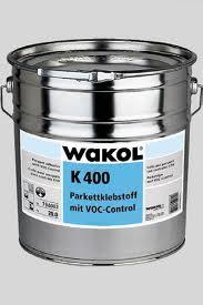Adeziv pentru parchet cu VOC control K 400-Wakol