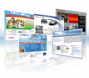 Web design pagini simple