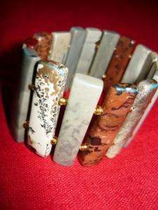 Bratara lata pietre semipretioase