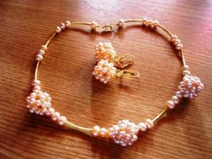 Set bijuterii perle