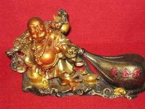 Buddha al abundentei ( din rasina )