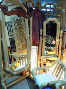 Oglinda bambus