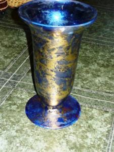 Vaza sticla inalta