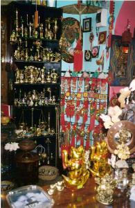 Obiecte india din alama