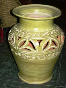 Vaza decor din ceramica
