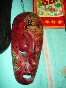 Masca africana - 3