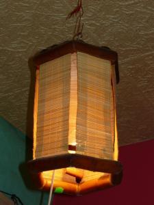 Lampadar bambus