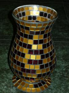 Obiecte din sticla colorata