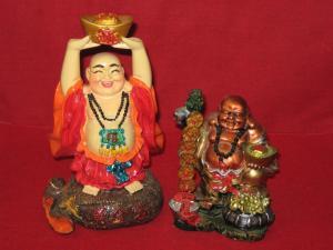 Buddha colorat ( din rasina )